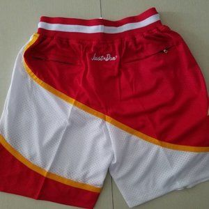 New NBA Just Don Atlanta Hawks Basketball Shorts